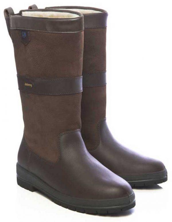 Dubarry Donegal Fleece Lined Boots - Walnut