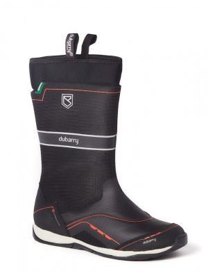DUBARRY Fastnet Sailing Boots - Waterproof - Black