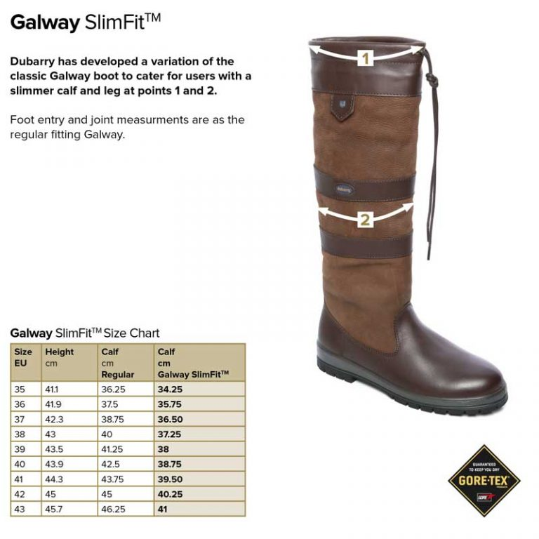 dubarry-galway-slim-fit-size-guide