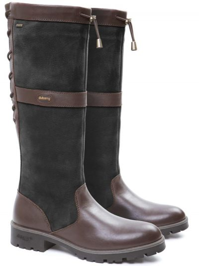 Dubarry Glanmire Boots - Black & Brown