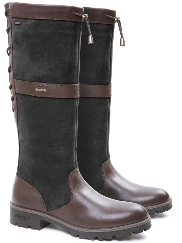 Dubarry Glanmire Boots - Black & Brown
