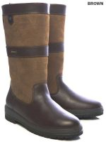 Dubarry Kildare Leather Boots - Brown