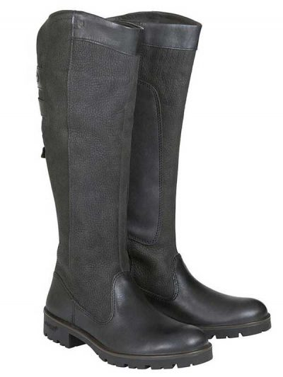 Dubarry Ladies Clare Leather Boots - Black