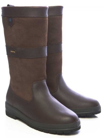 Dubarry Kildare Leather Boots - Walnut