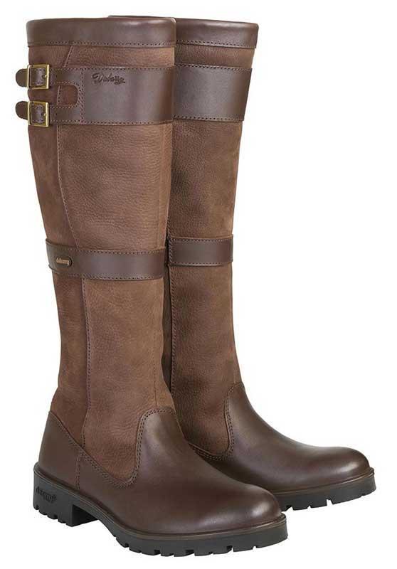 Dubarry Ladies Longford Boots Walnut