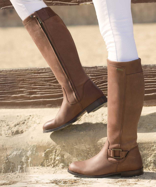 7d43fdc7962 Dubarry Limerick Ladies Chestnut Boots - Official Dubarry Stockists