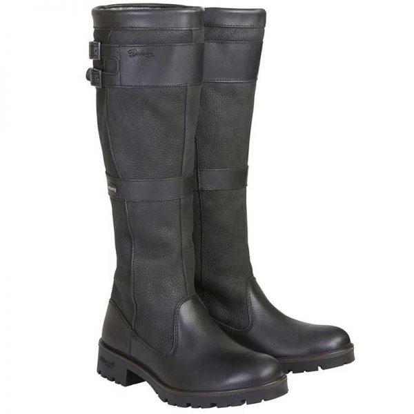 dubarry-longford-leather-boot-black-pair