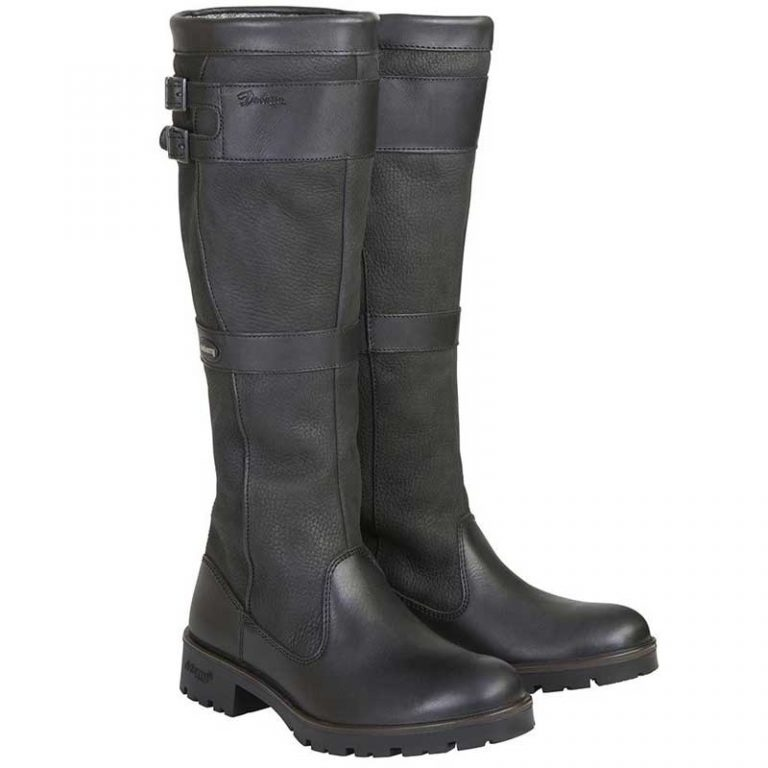 dubarry-longford-leather-boot-black-pair