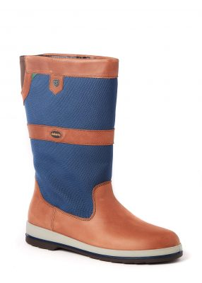 DUBARRY Shamrock Sailing Boots - GORE-TEX - Navy & Brown