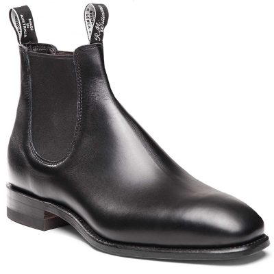 RM WILLIAMS Boots - Men's Comfort Craftsman - Black