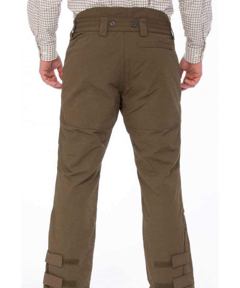 ALAN PAINE - Mens Dunswell Waterproof Shooting Trousers - Olive
