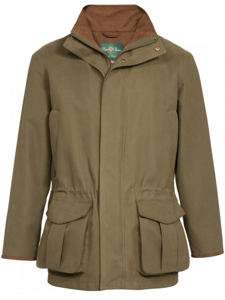 ALAN PAINE Waterproof Coat - Mens Berwick - Olive