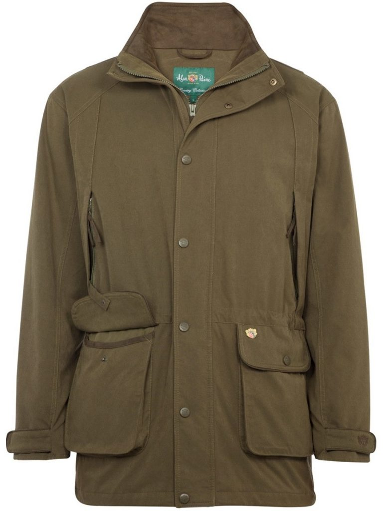 ALAN PAINE - Mens Dunswell Waterproof Jacket - Olive