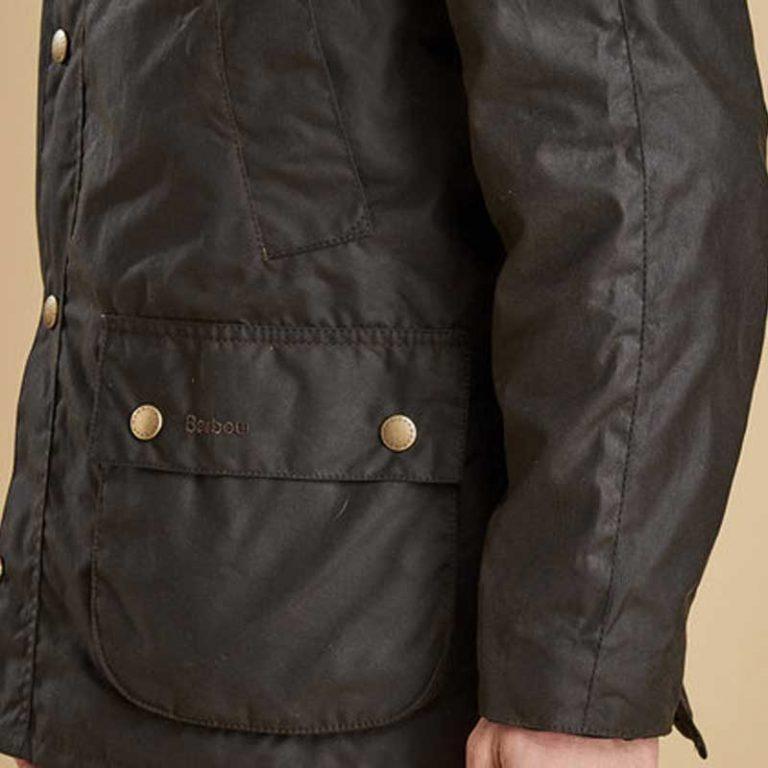barbour-ashby-wax-jacket-olive-pocket-detail