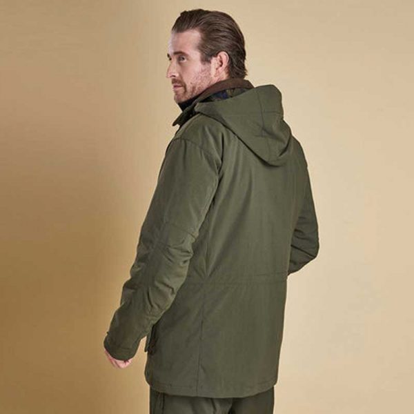 barbour-bransdale-waterproof-jacket-forest-green-back-view