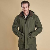 barbour-bransdale-waterproof-jacket-forest-green-front-view