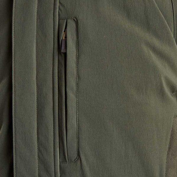 barbour-bransdale-waterproof-jacket-forest-green-pocket-detail