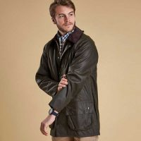 barbour-classic-beaufort-wax-jacket-olive-front-view