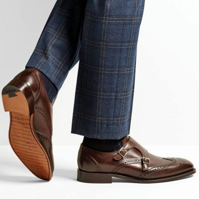 Barker Fleet Monk Strap Brogues