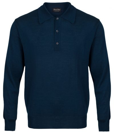 Franco Ponti Long Sleeve Polo