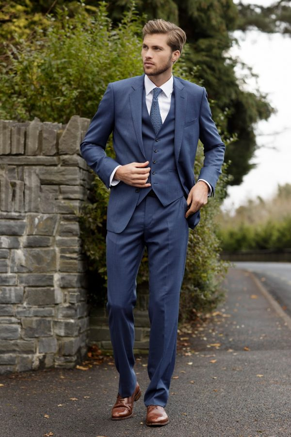 Magee Suit - Cobalt Blue - Tailored Fit