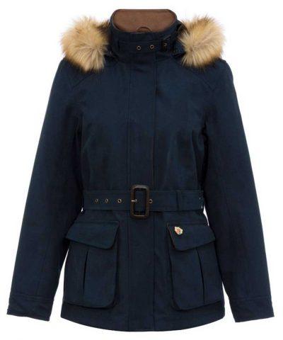 ALAN PAINE - Ladies Berwick Waterproof Jacket - Dark Navy