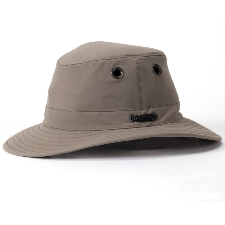 Tilley Hats – LT5B Lightweight Nylon Medium Brim – Taupe
