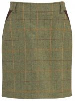 Alan Paine – Ladies Compton Tweed 49cm Skirt- Landscape