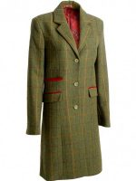 Alan Paine – Ladies Tweed Compton Mid Length Coat – Landscape