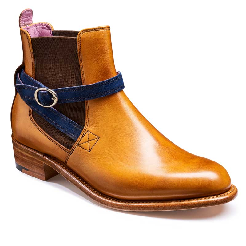 6848b4ed3f948 BARKER Alexandra Boots – Ladies Chelsea – Cedar Calf