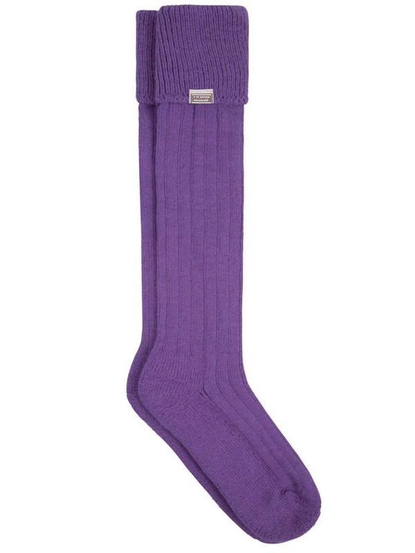 DUBARRY Alpaca Wool Socks - Purple