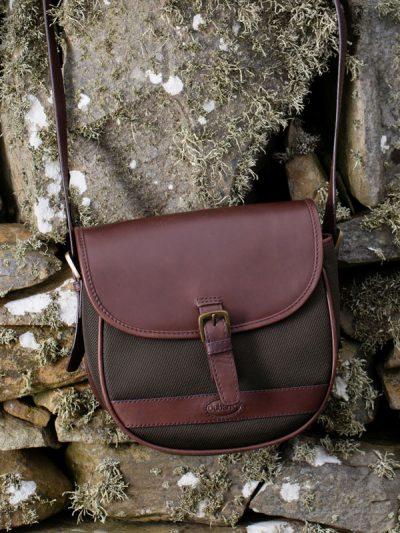 Dubarry Clara Leather Handbag - Olive