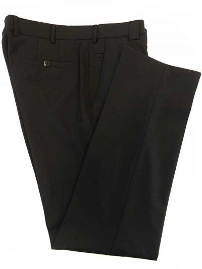 Meyer Trousers - Fine Gabardine - Roma - Black