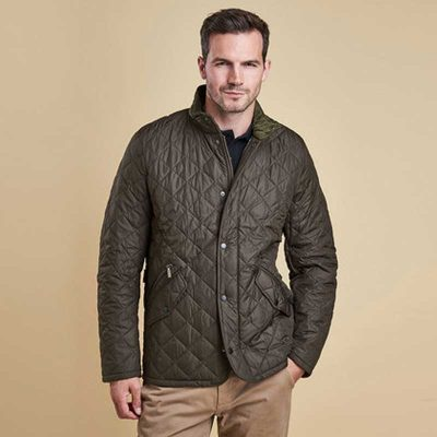 barbour-chelsea-sports-quilt-jacket-olive-front-view-second