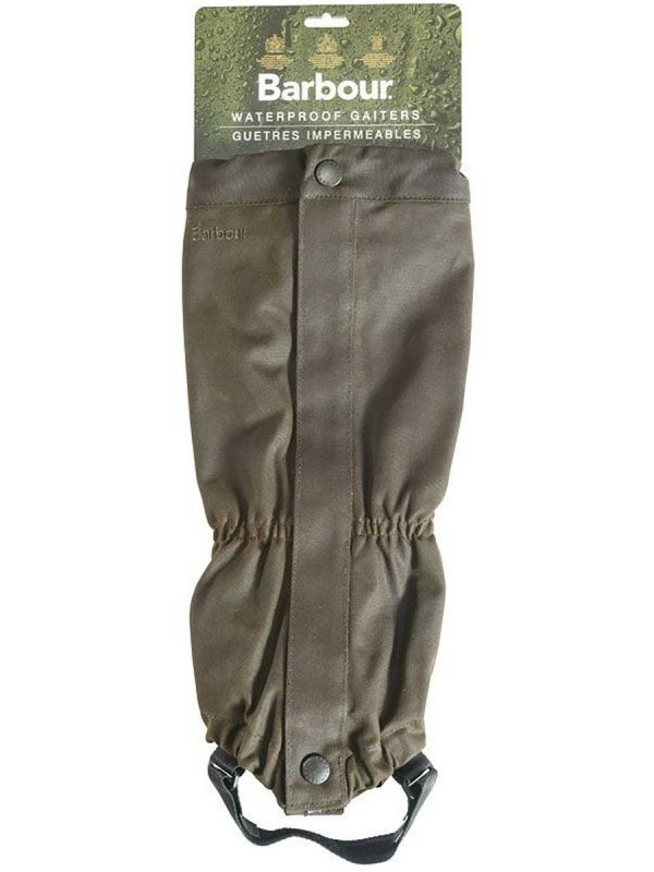 BARBOUR Gaiters - Wax Cotton - Olive