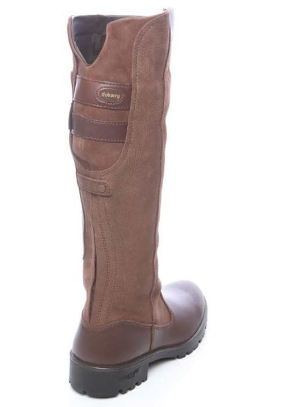 dubarry-clare-boots-walnut-3922-52-back-view
