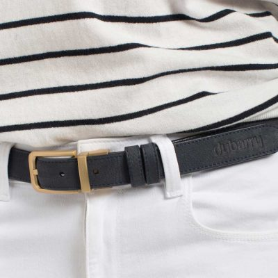 DUBARRY Foynes Leather Belt - Reversible Navy