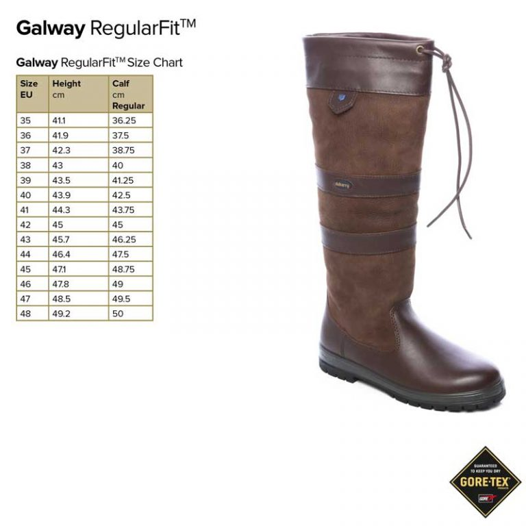 dubarry-galway-regular-fit-size-guide
