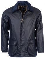Barbour-Bedale-Wax-Jacket-Navy