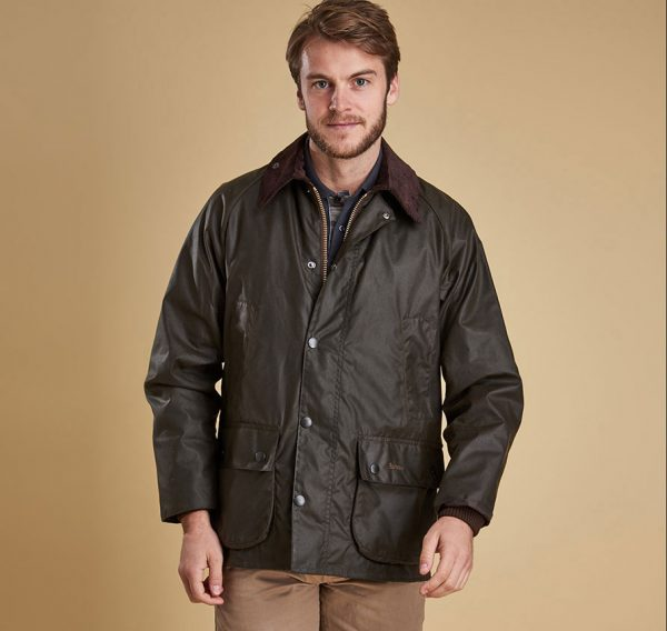 Barbour - Mens Classic Bedale Wax Jacket -Olive