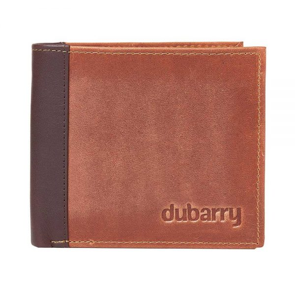 Dubarry Rosmuc Leather Mens Wallet - Chestnut