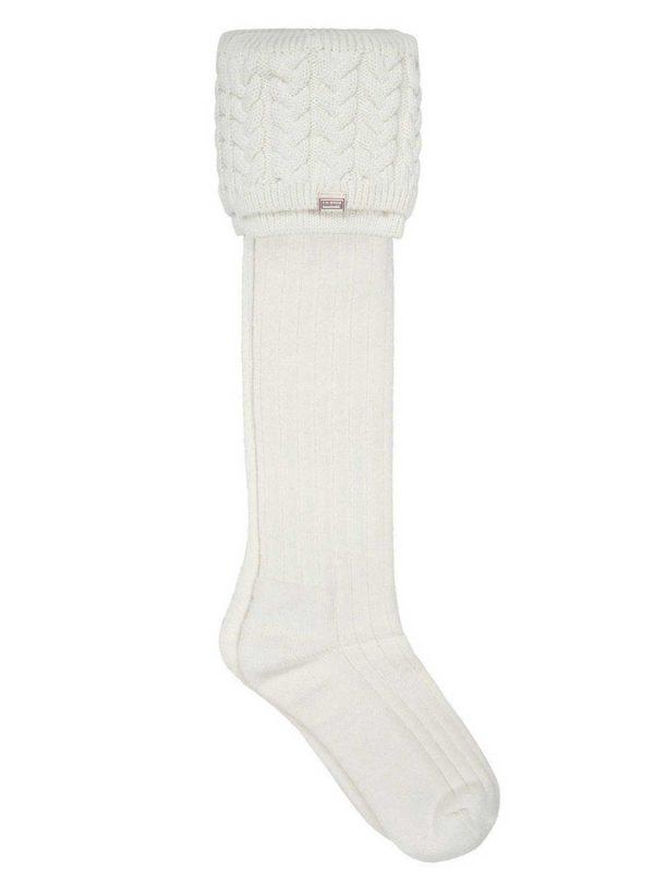 DUBARRY Trinity Luxury Knitted Boot Socks - Cream