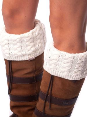 DUBARRY Trinity Luxury Knitted Boot Socks - Cream