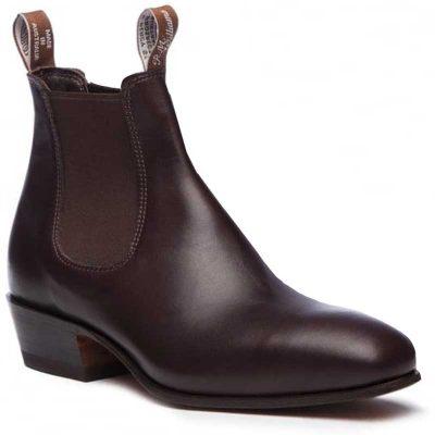 RM WILLIAMS Boots - Ladies Kimberley - Chestnut