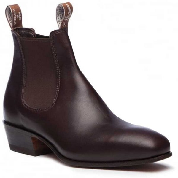 RM WILLIAMS Boots - Ladies Kimberley - Chestnut