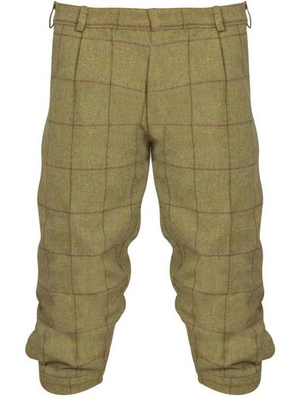 ALAN PAINE Breeks - Mens Rutland Tweed - Lichen