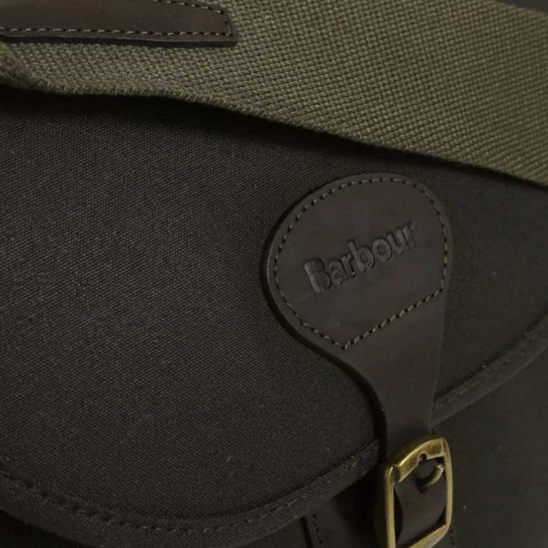 BARBOUR Cartridge Bag - Wax Leather