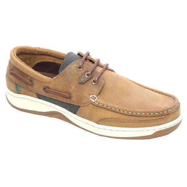 DUBARRY Deck Shoes - Men's Regatta - Brown Nubuck