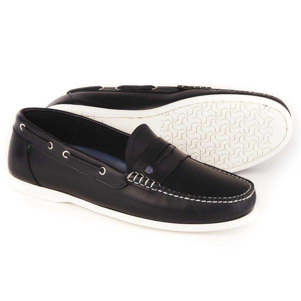 DUBARRY Deck Shoes - Men's Spinnaker Loafer - Navy
