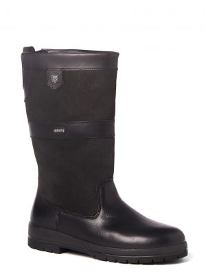 DUBARRY Kildare Leather Boots - Waterproof Gore-Tex Leather - Black